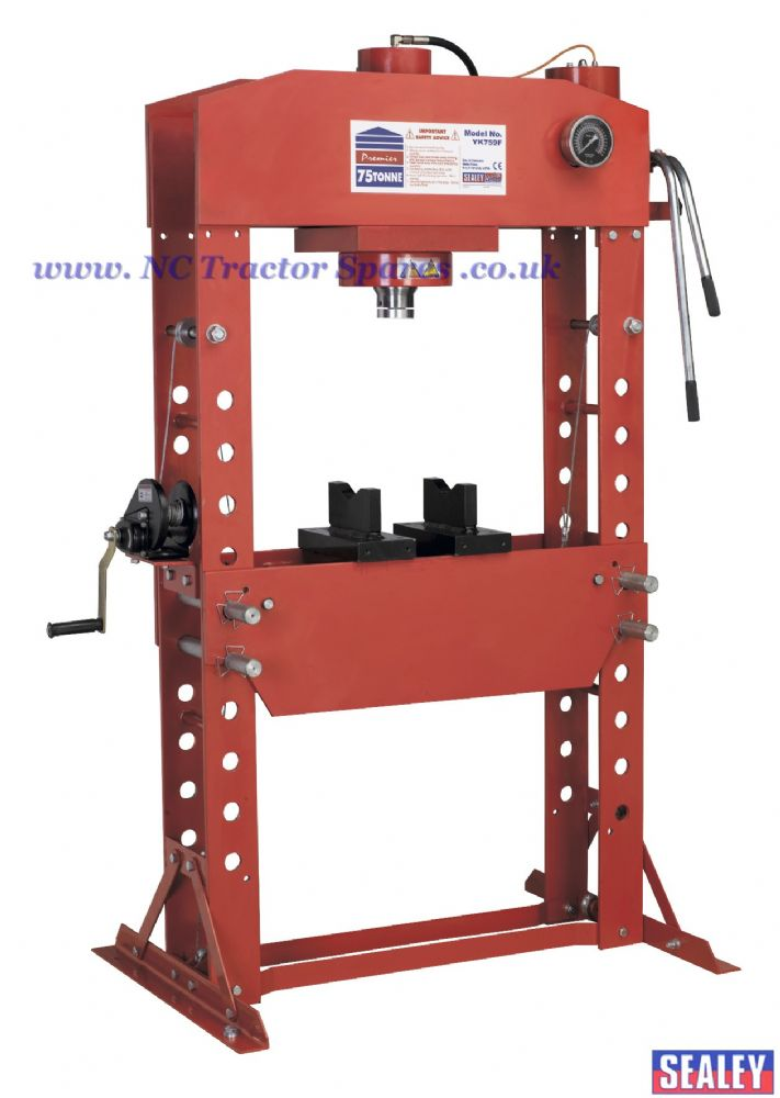 Hydraulic Press 75tonne Floor Type